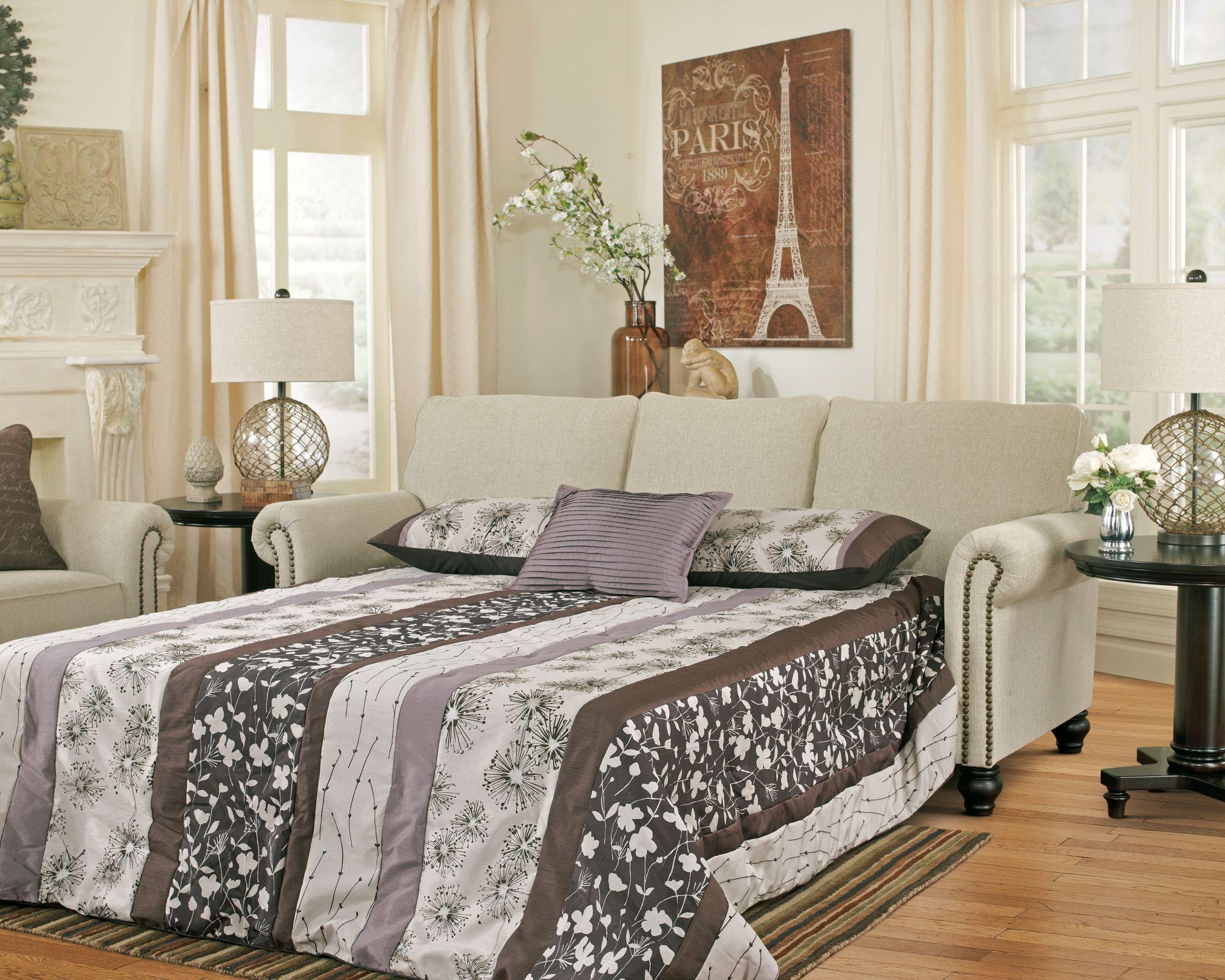 Milari Linen Queen Sofa Sleeper From Ashley 1300039