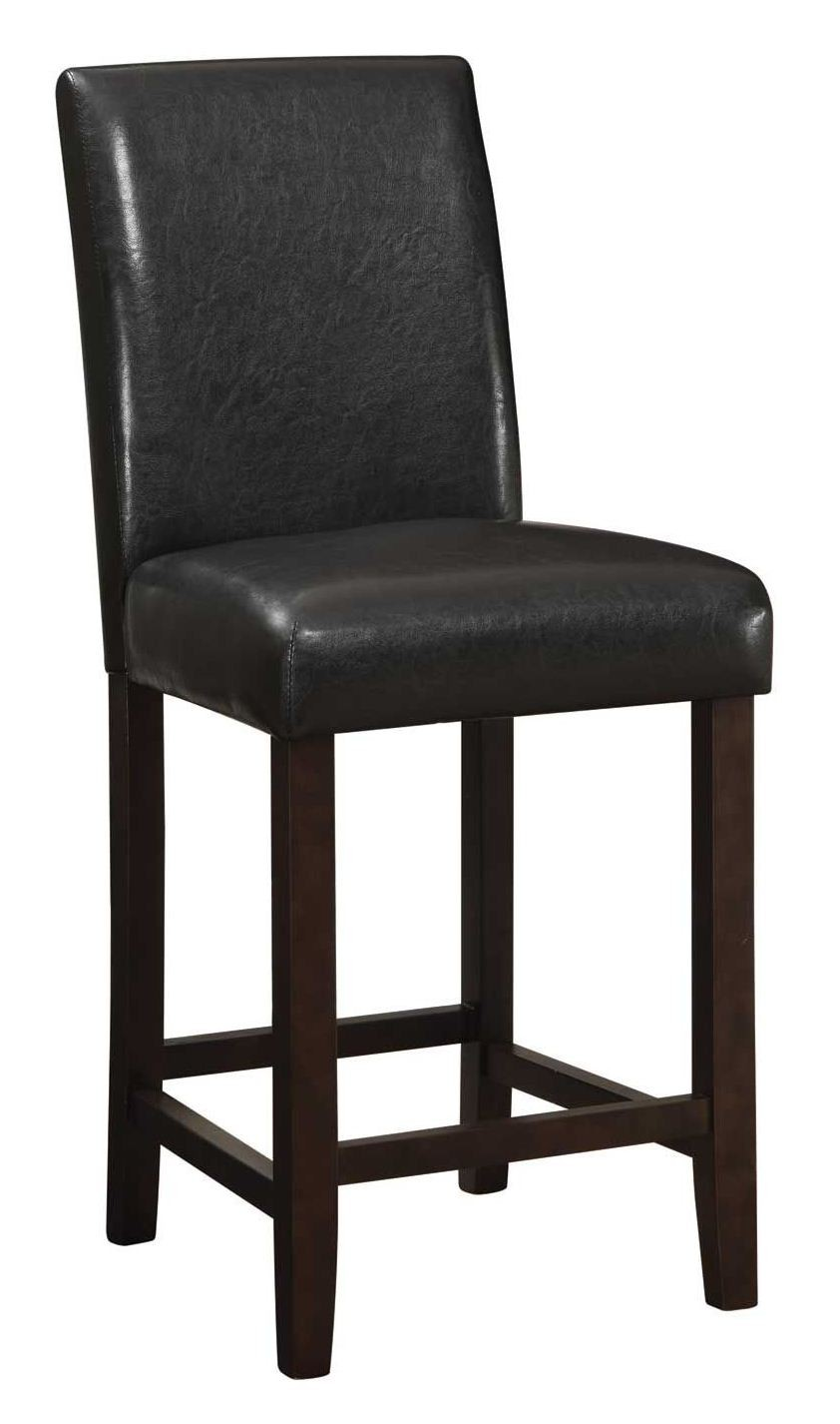 Parson 24 Quot Counter Height Bar Stool Set Of 2 From Coaster