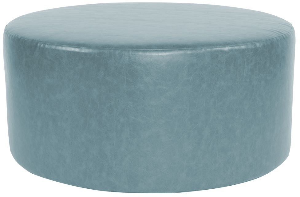 Bucktown Turquoise Universal 36 Quot Round Ottoman From Howard