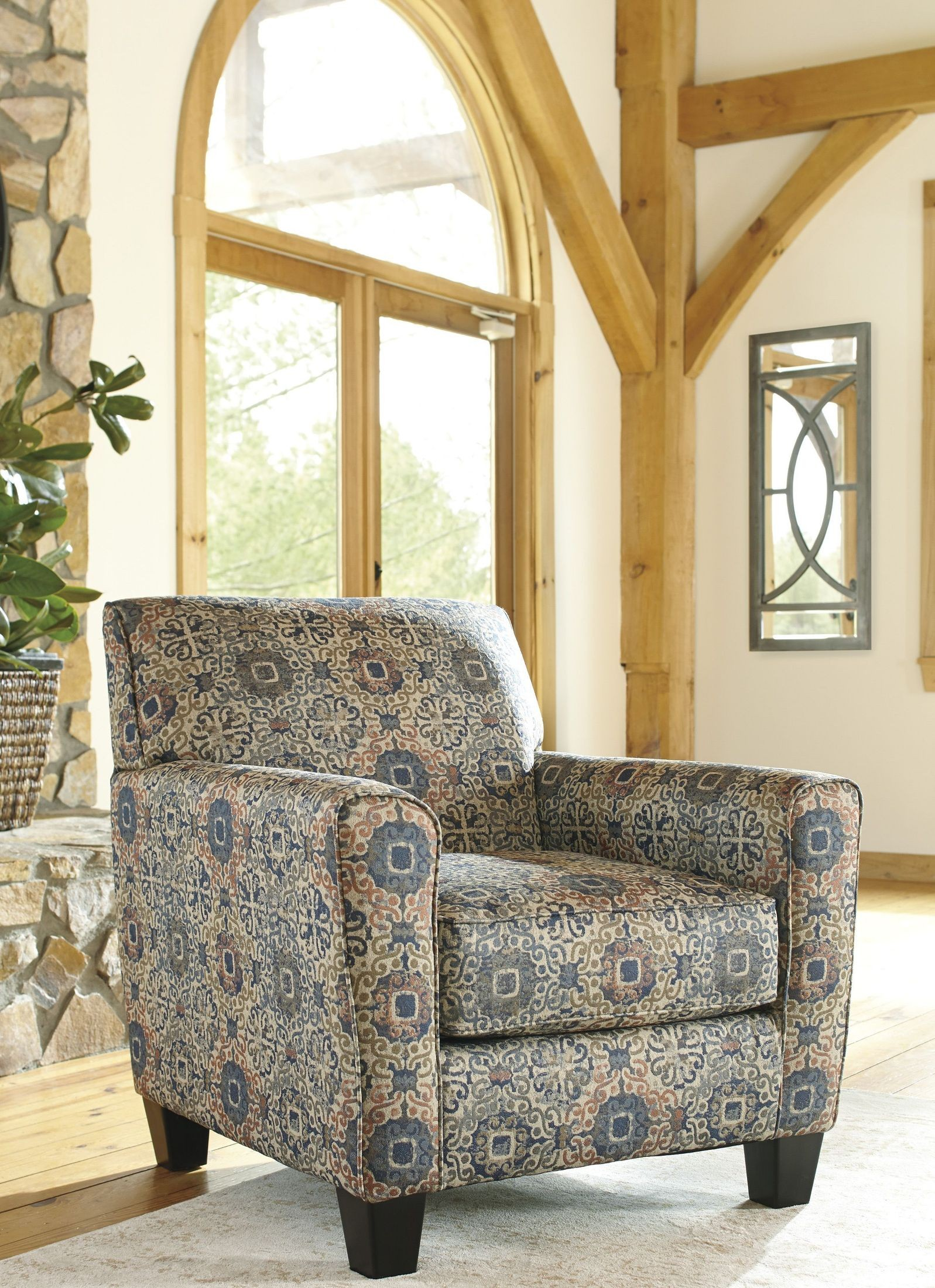Belcampo Rust Accent Chair from Ashley