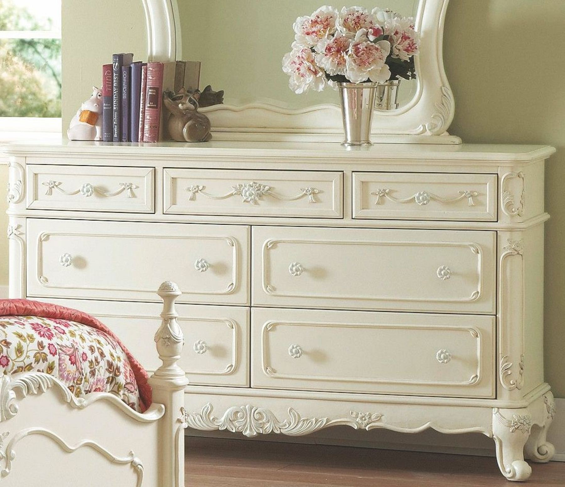 Cinderella Youth Bedroom Set from Homelegance (1386) | Coleman ...