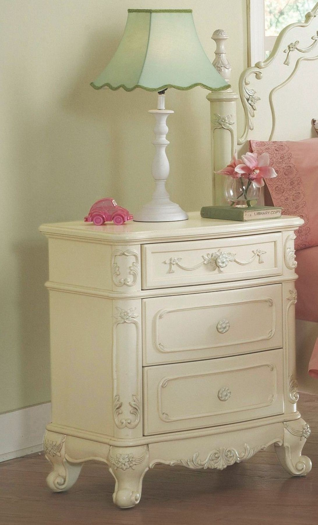 Cinderella Youth Nightstand From Homelegance 1386 4 Coleman Furniture