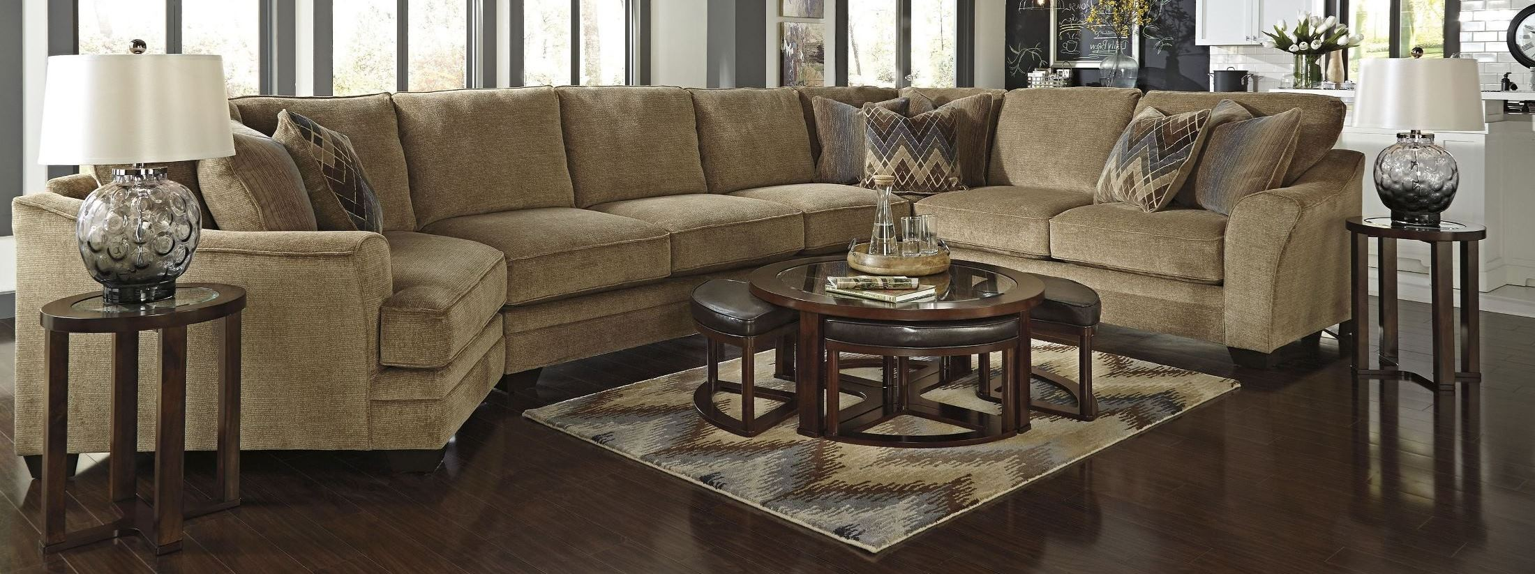 Lonsdale LAF Large Cuddler Sectional from Ashley (92111-16 ...