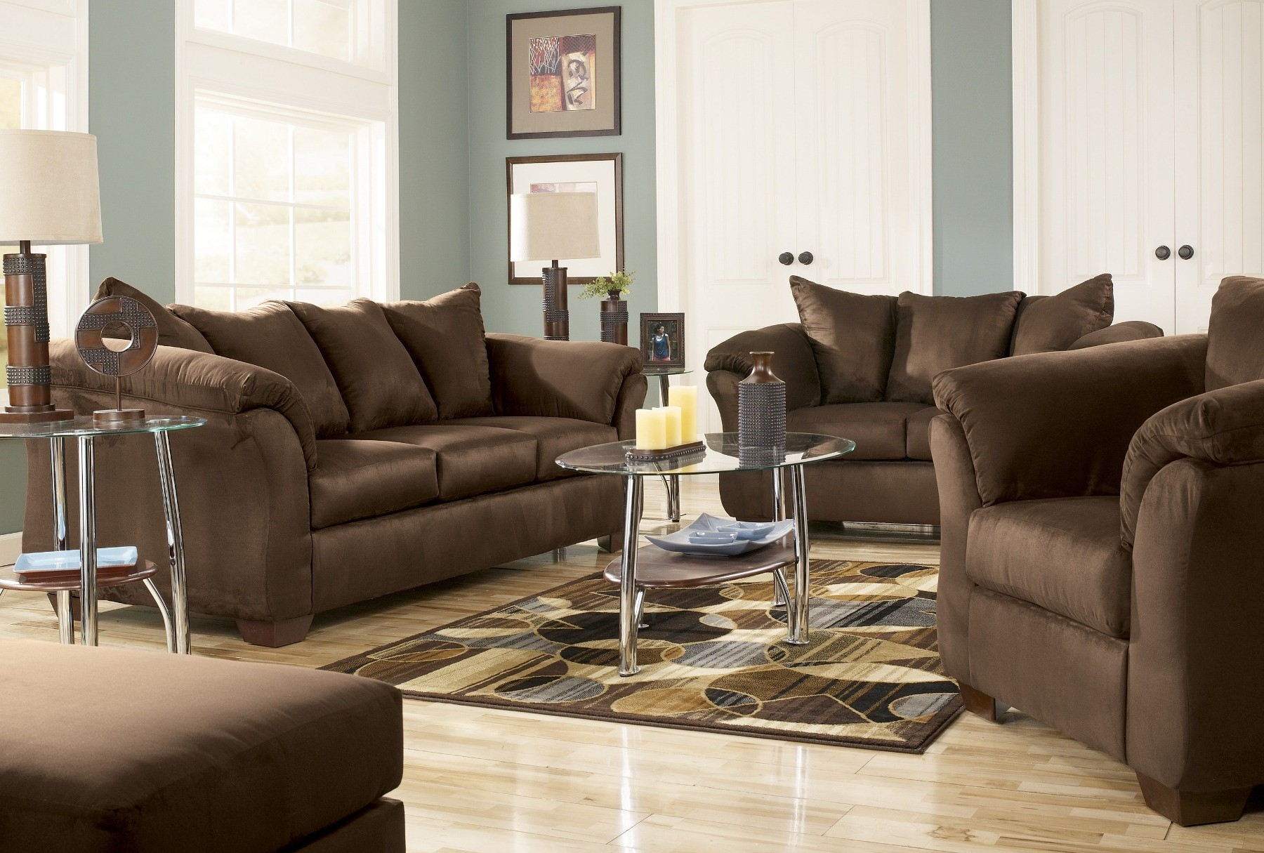 Darcy Cafe Living Room Set From Ashley 75004 Coleman
