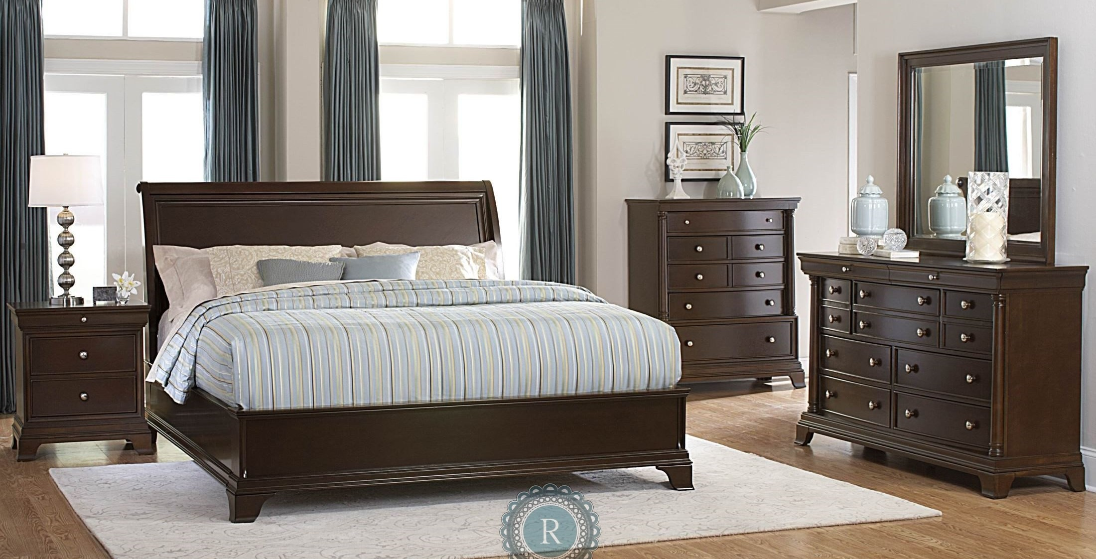 Inglewood Low Profile Bedroom Set From Homelegance 1402lp Coleman Furniture