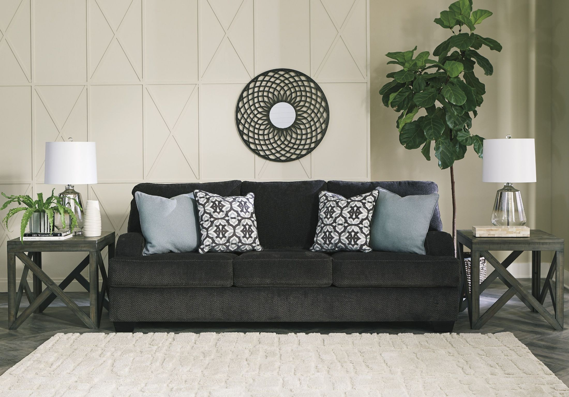 Charenton Charcoal Sofa From Ashley Coleman Furniture