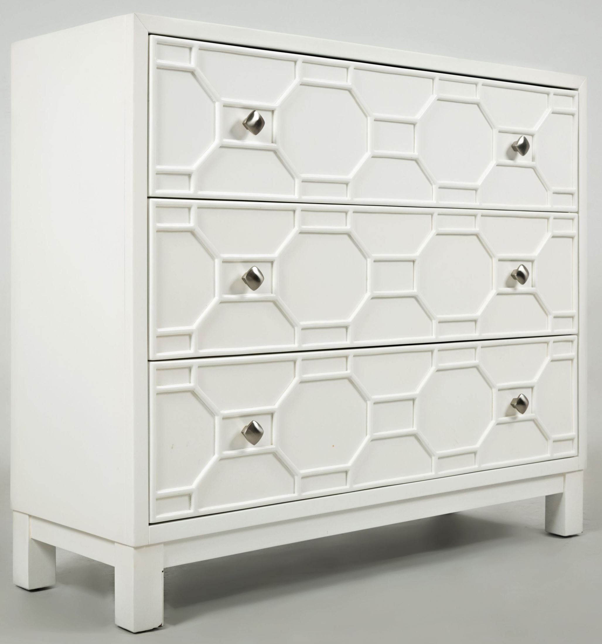 Matrix Polar White Accent Chest from Jofran