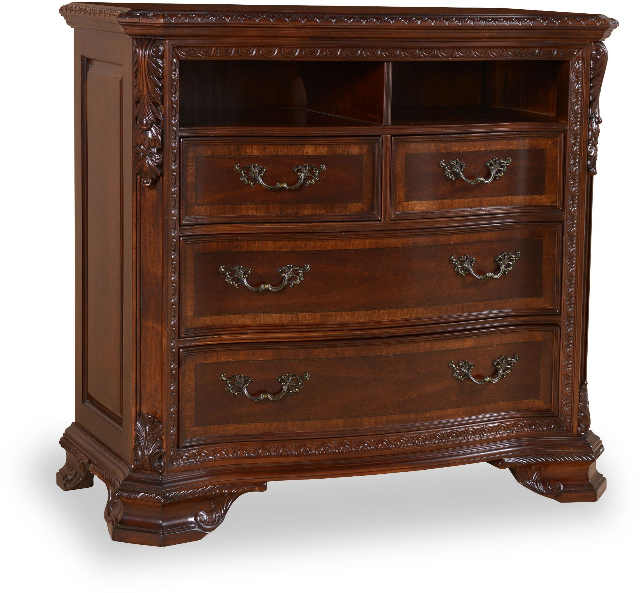 Old World Bedroom Furniture: Old World Estate Bedroom Set From ART (143155)
