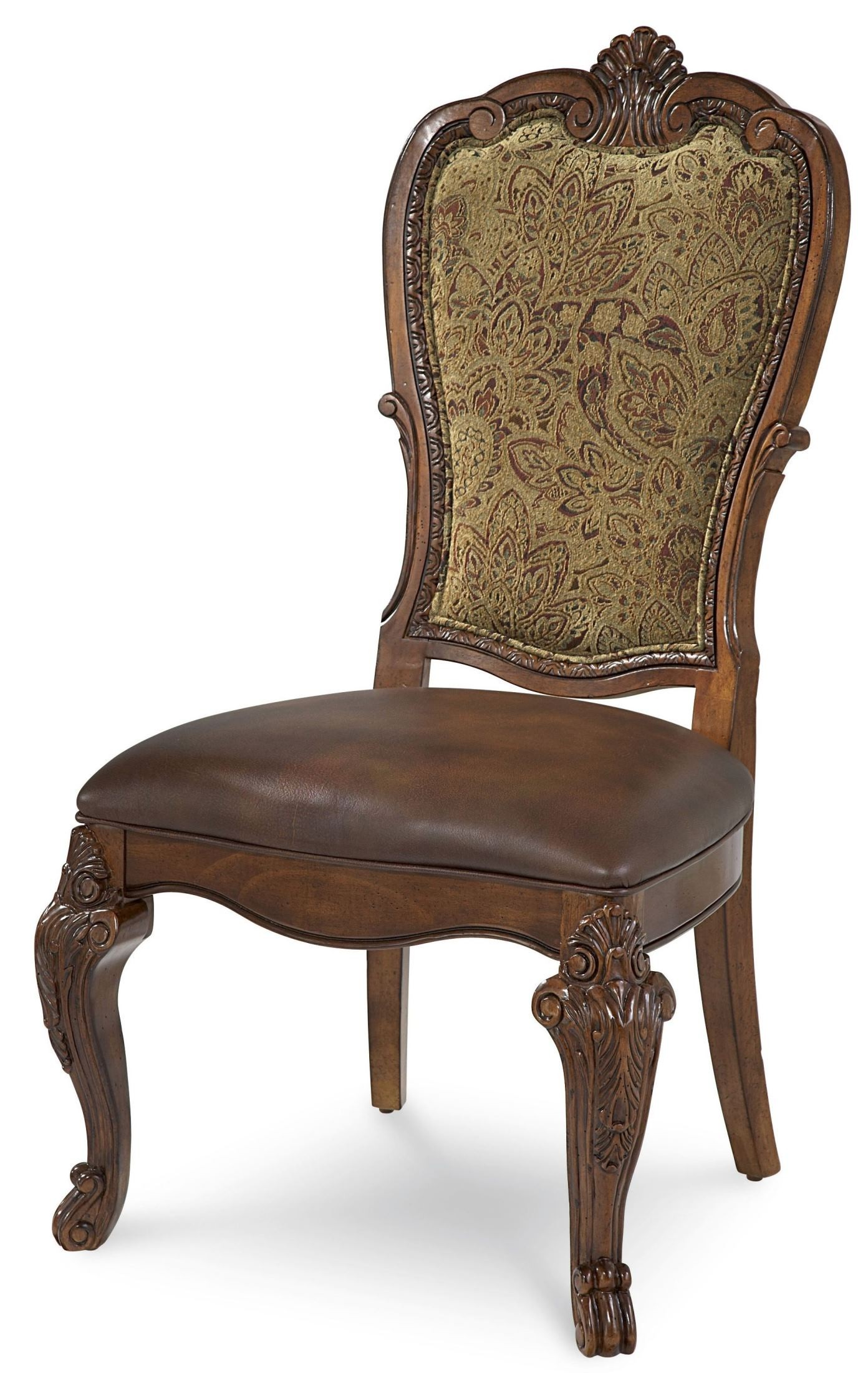 Old World Double Pedestal Extendable Dining Room Set From ART | Coleman  Furniture