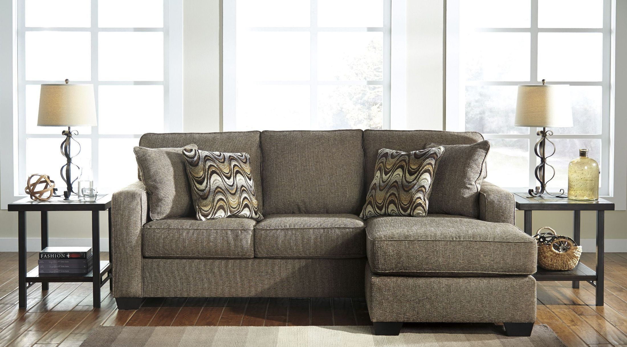 Tanacra Tweed Sofa Chaise from Ashley
