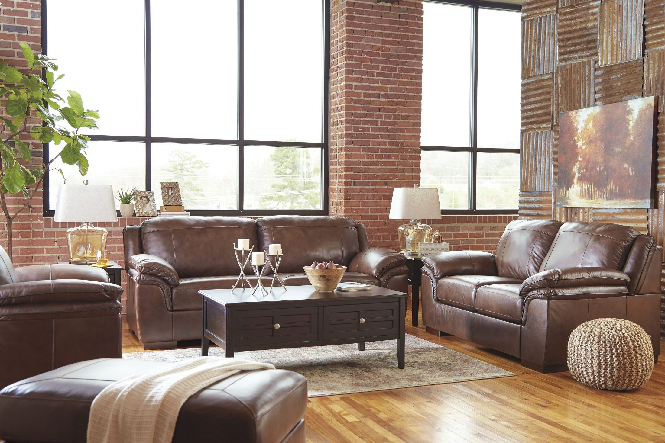 Islebrook canyon living room set from ashley coleman furniture for Ashley furniture 5 piece living room set