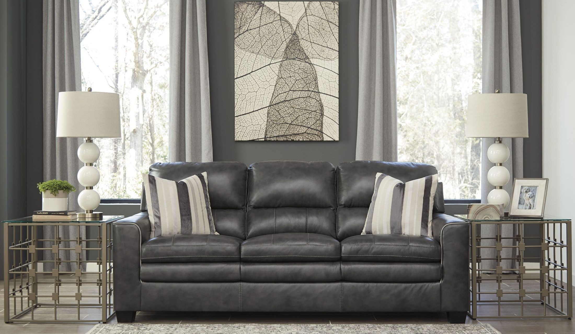 Gleason Charcoal Living Room Set From Ashley Coleman Furniture