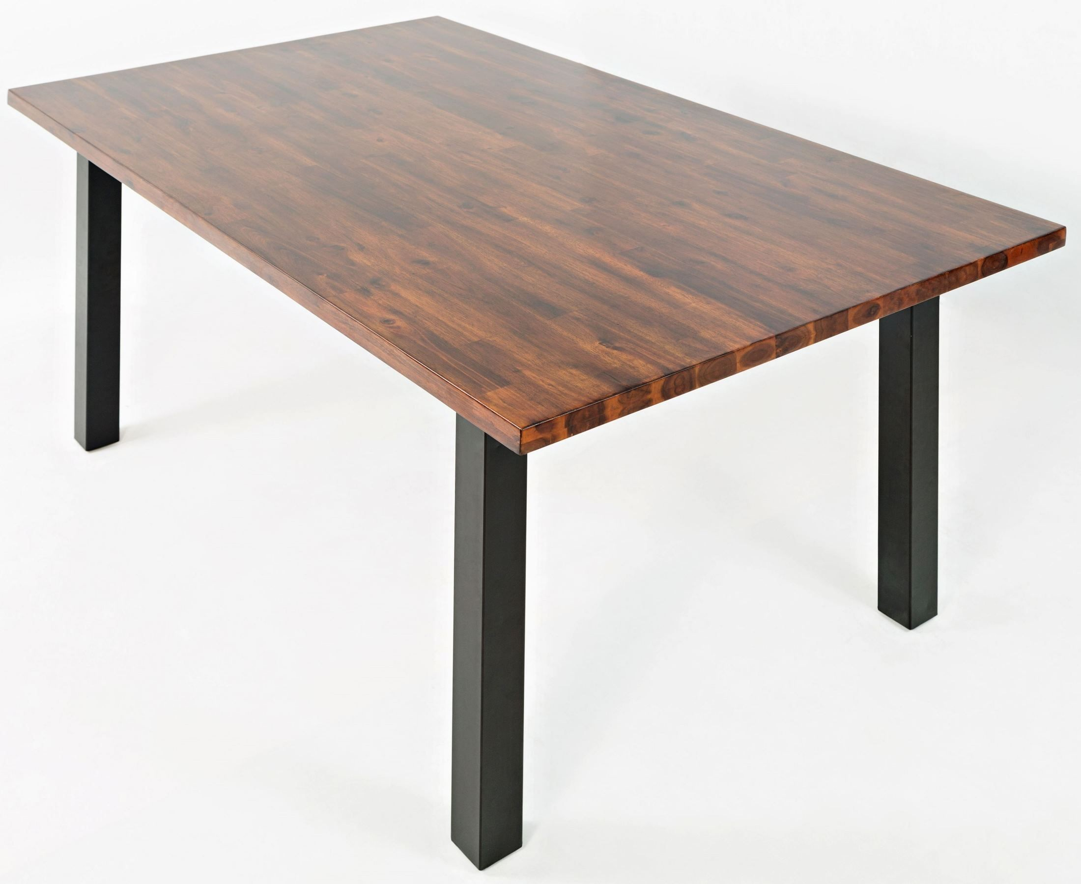 urban dweller wood and metal dining table from jofran coleman furniture. Black Bedroom Furniture Sets. Home Design Ideas