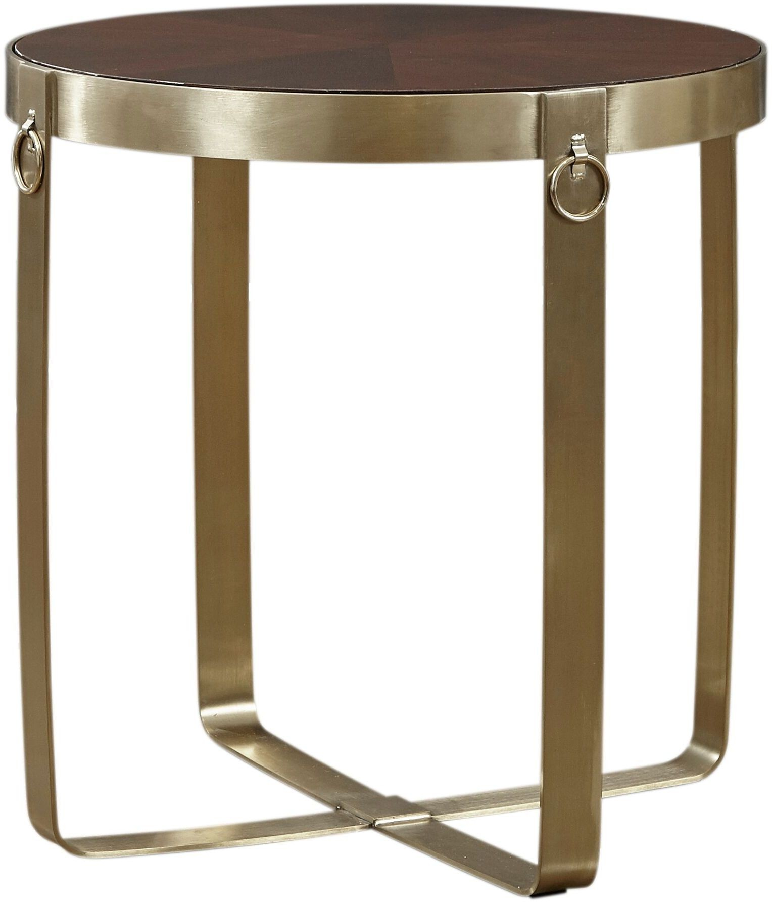 Options gold round end table from lazzaro coleman furniture for Table options
