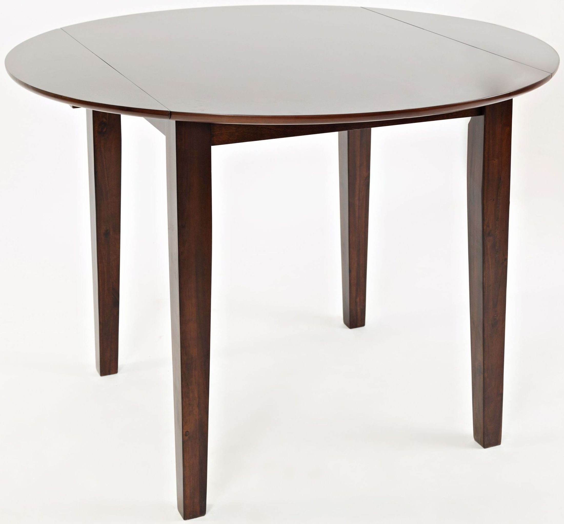 Everyday Classics Cherry Extendable Round Dining Table ...