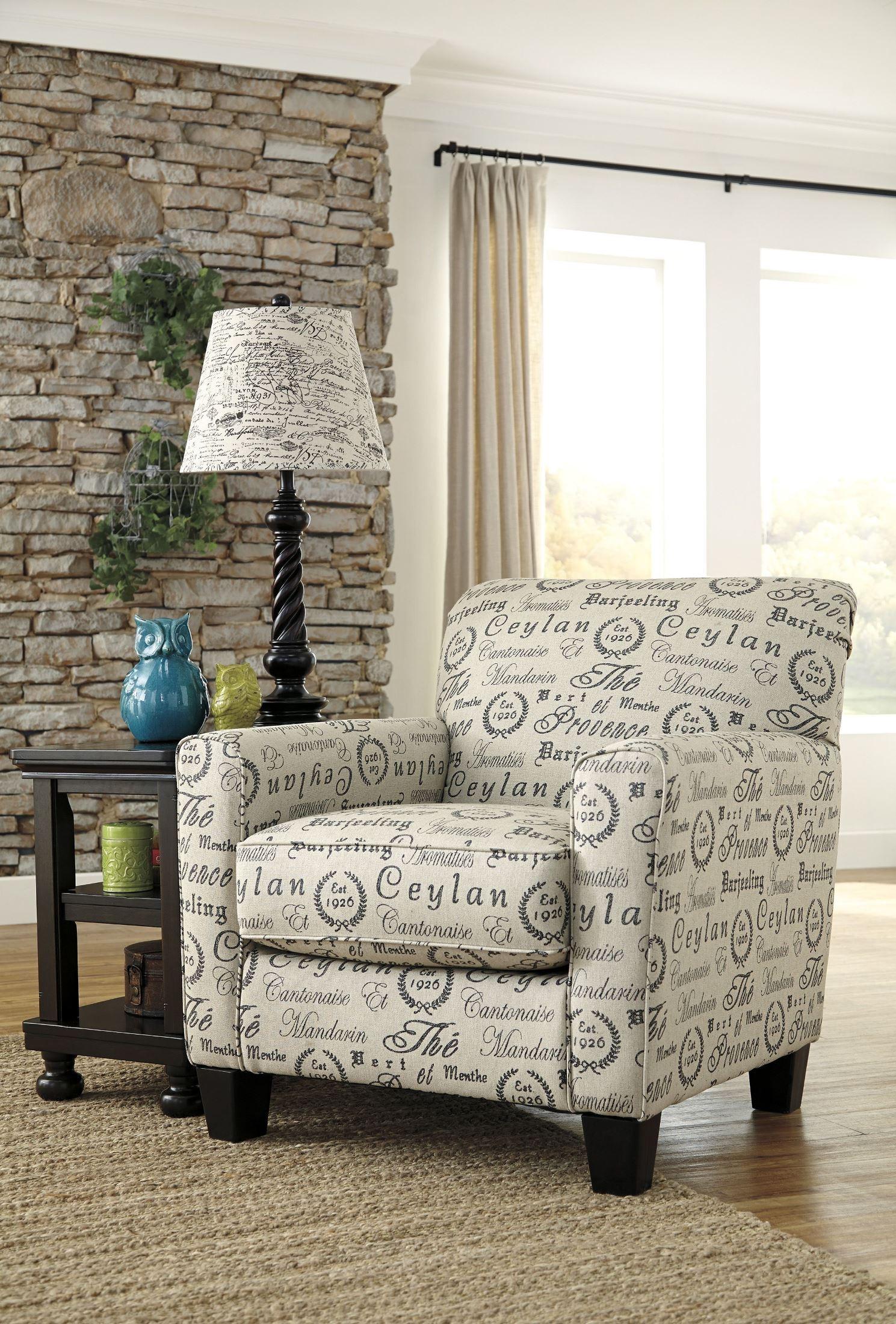 Alenya Quartz Fabric Accent Chair From Ashley 1660021