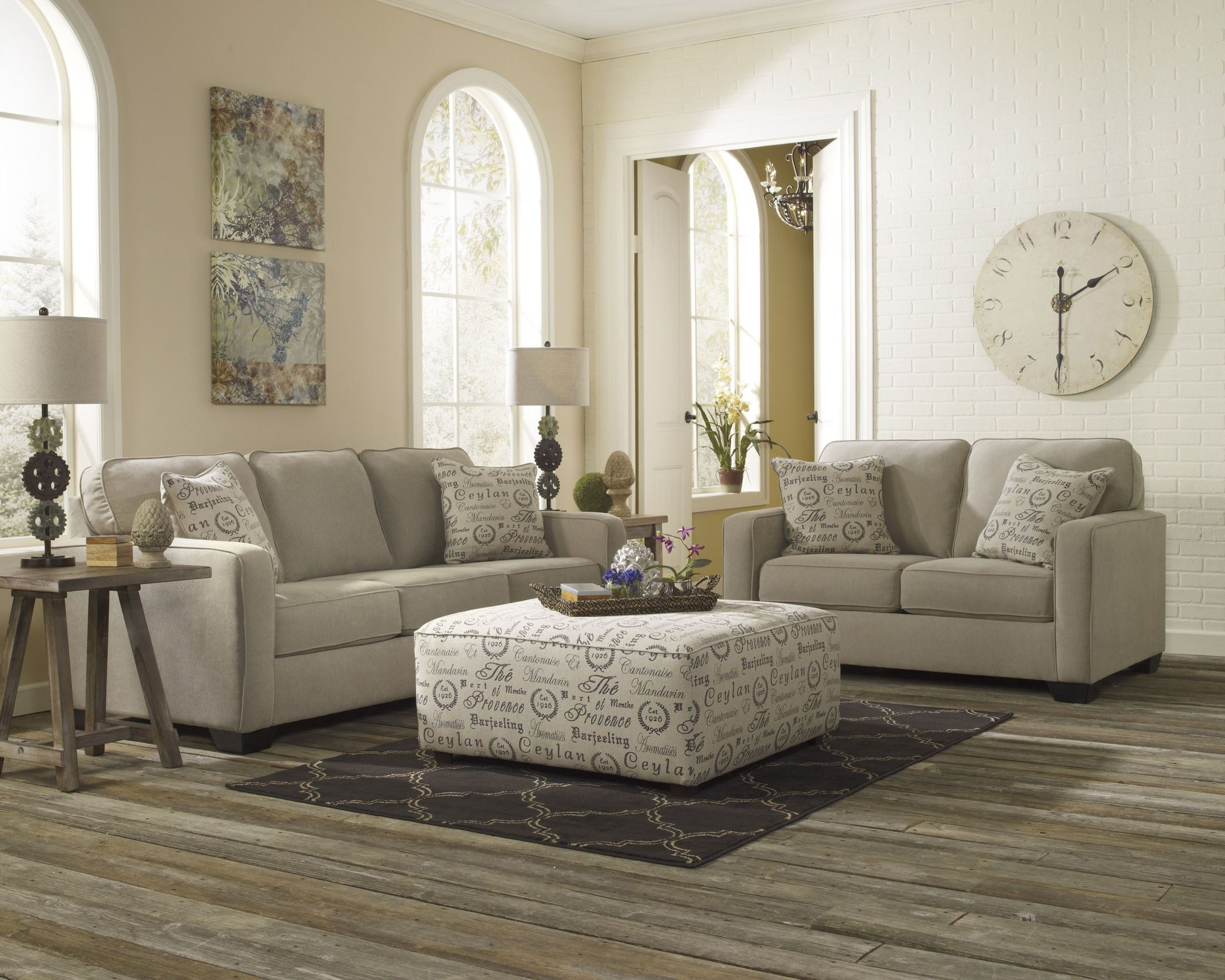 Alenya Quartz Queen Sofa Sleeper From Ashley 1660039