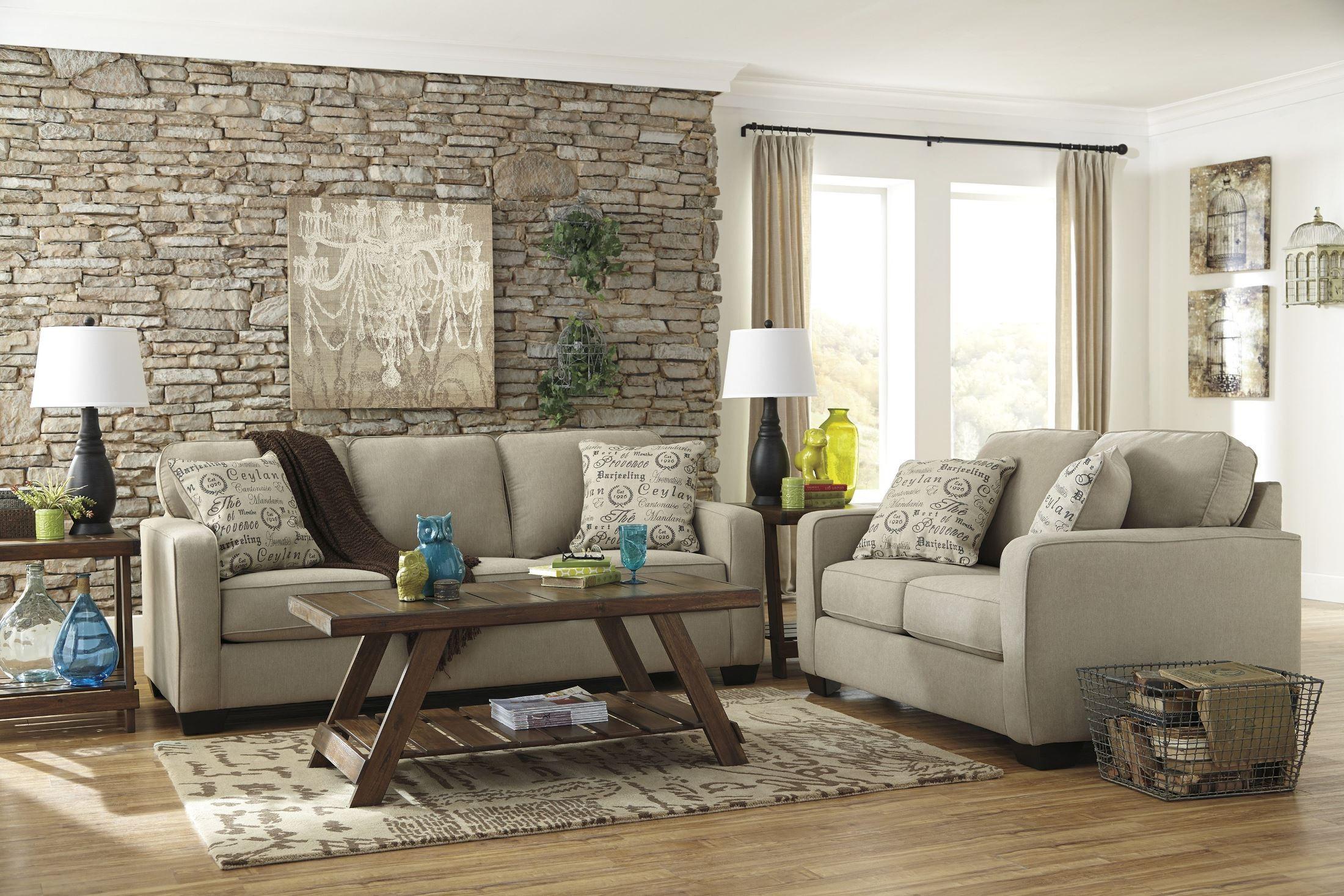 Alenya Quartz Fabric Sofa From Ashley 1660038 Coleman