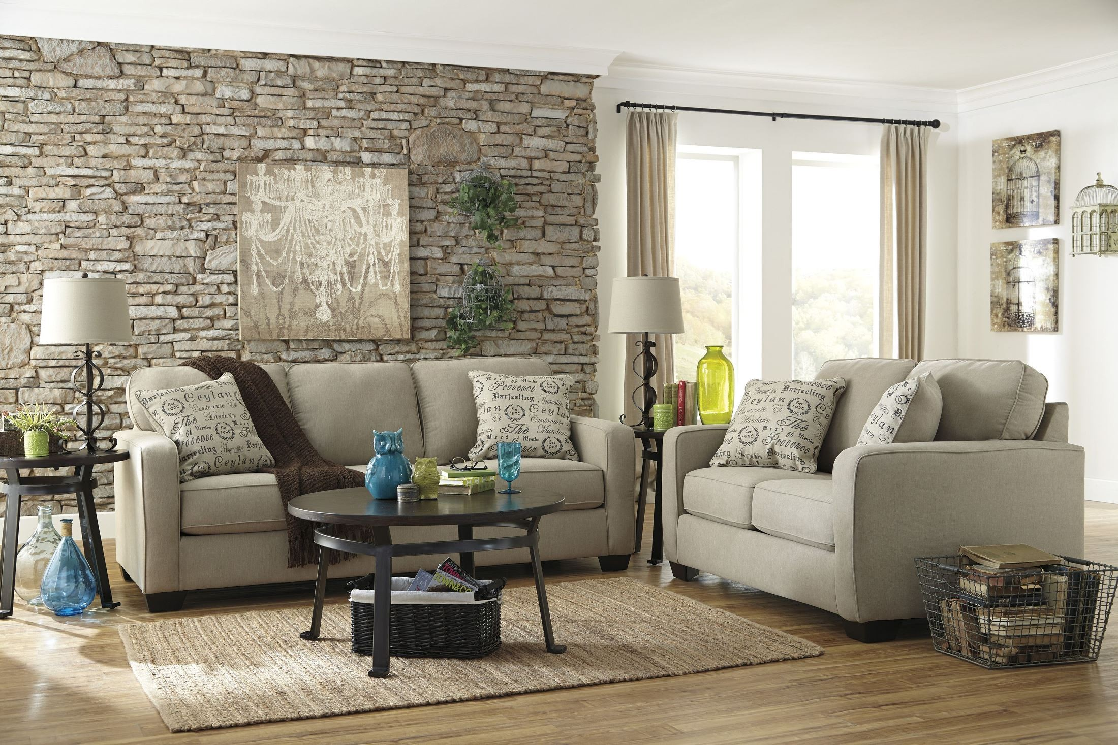 Alenya Quartz Queen Sofa Sleeper From Ashley 1660039