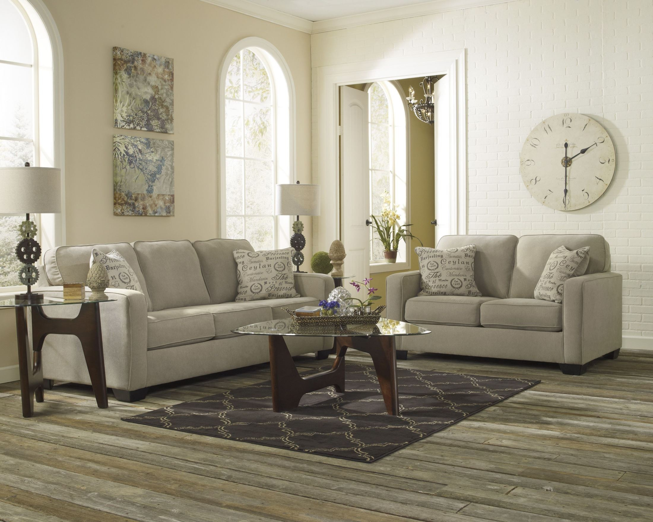 Alenya Quartz Living Room Set from Ashley 38 35