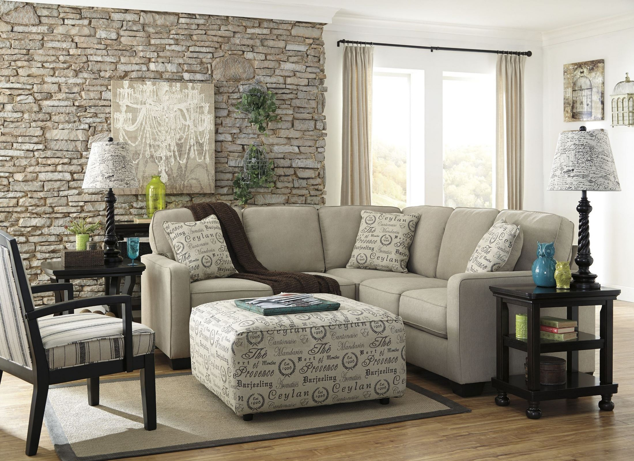 alenya quartz laf sectional from ashley coleman furniture