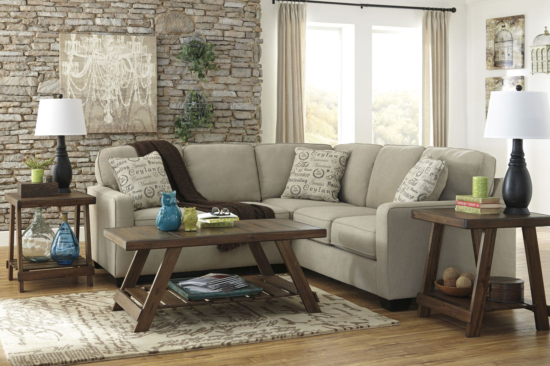 Alenya Quartz LAF Sectional from Ashley