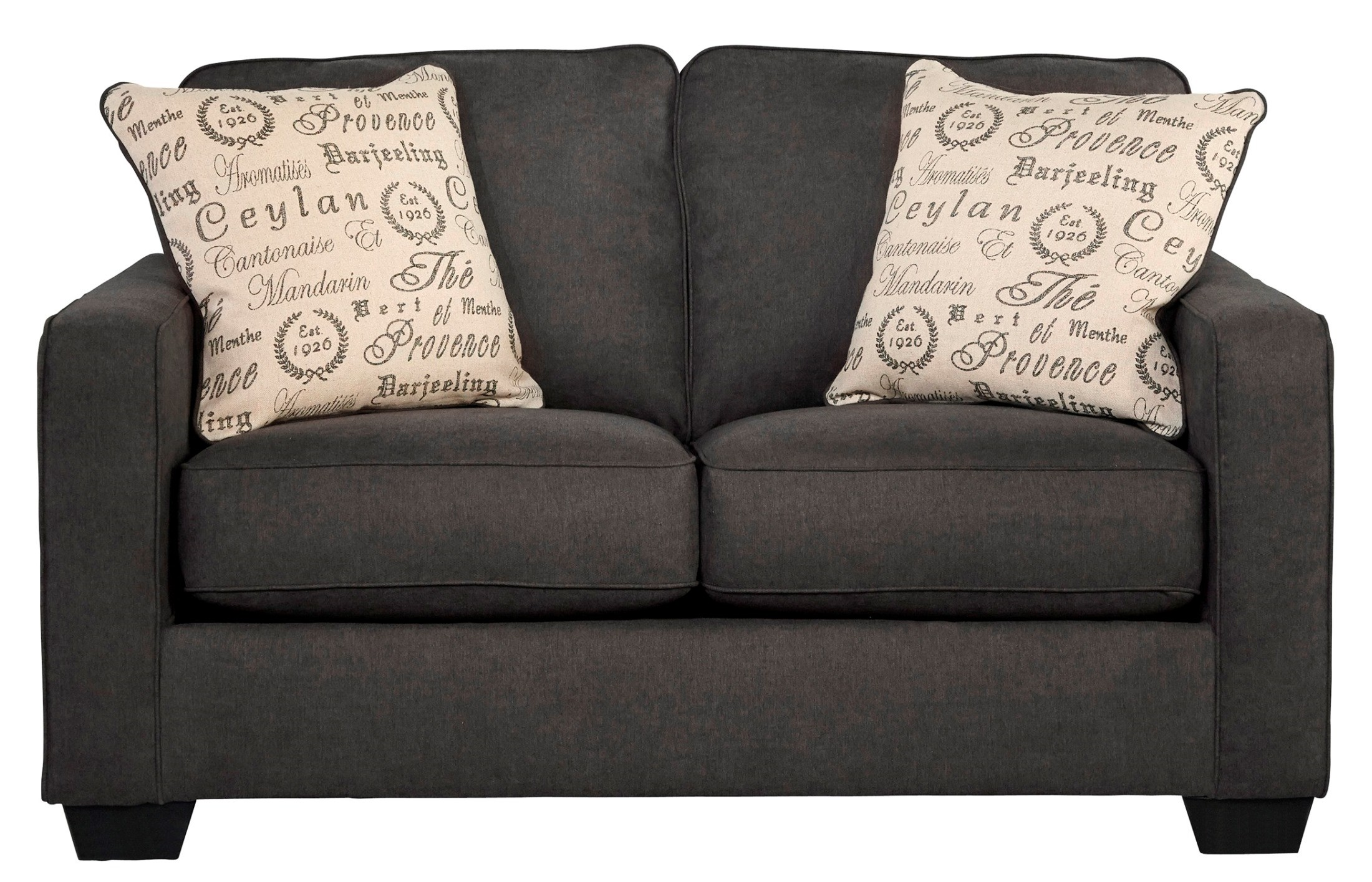 Alenya Charcoal Loveseat From Ashley 1660135 Coleman Furniture