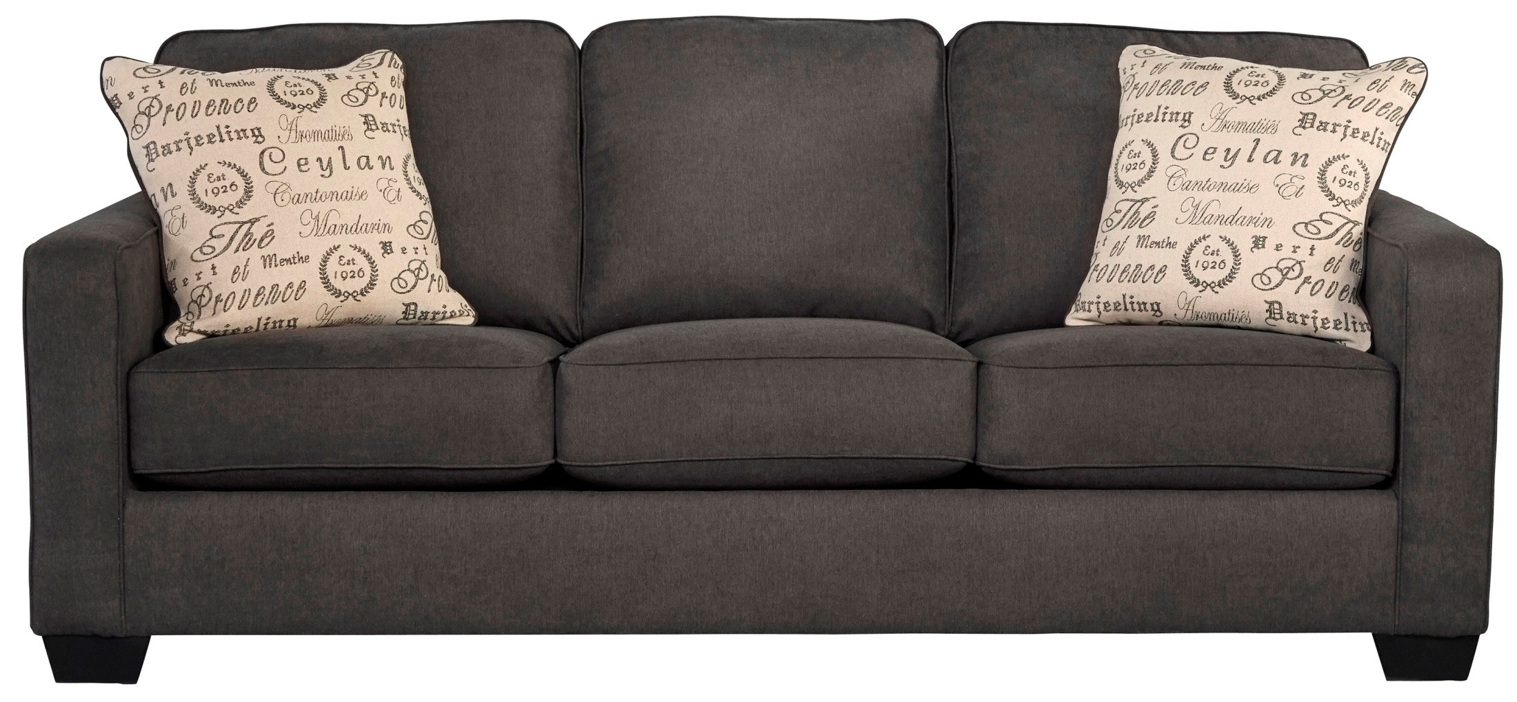 alenya charcoal 2 piece sectional sofa2 sofa with chaise cov