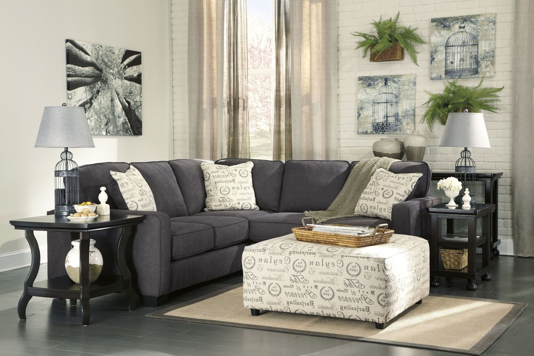 Alenya Charcoal Raf Sectional From Ashley Coleman Furniture