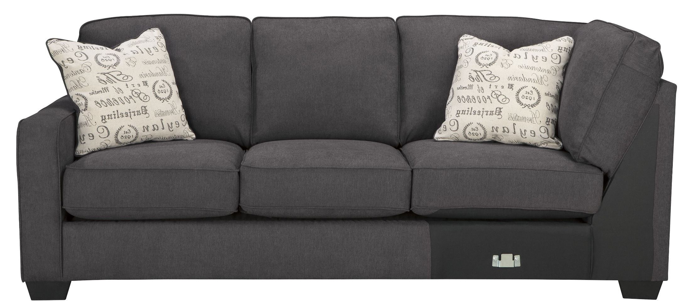 Alenya Charcoal LAF Sectional from Ashley 55 67