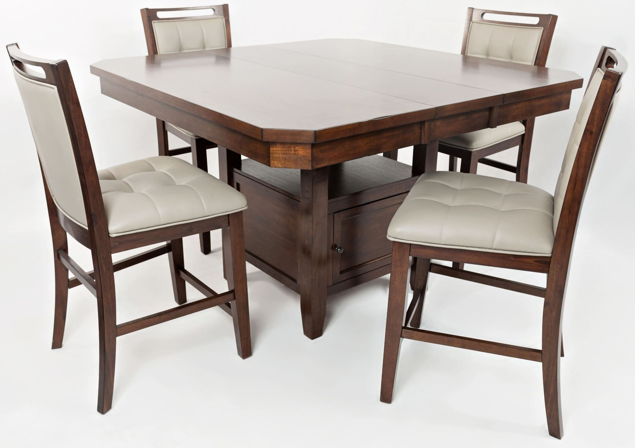 Manchester Storage Adjustable Dining Table