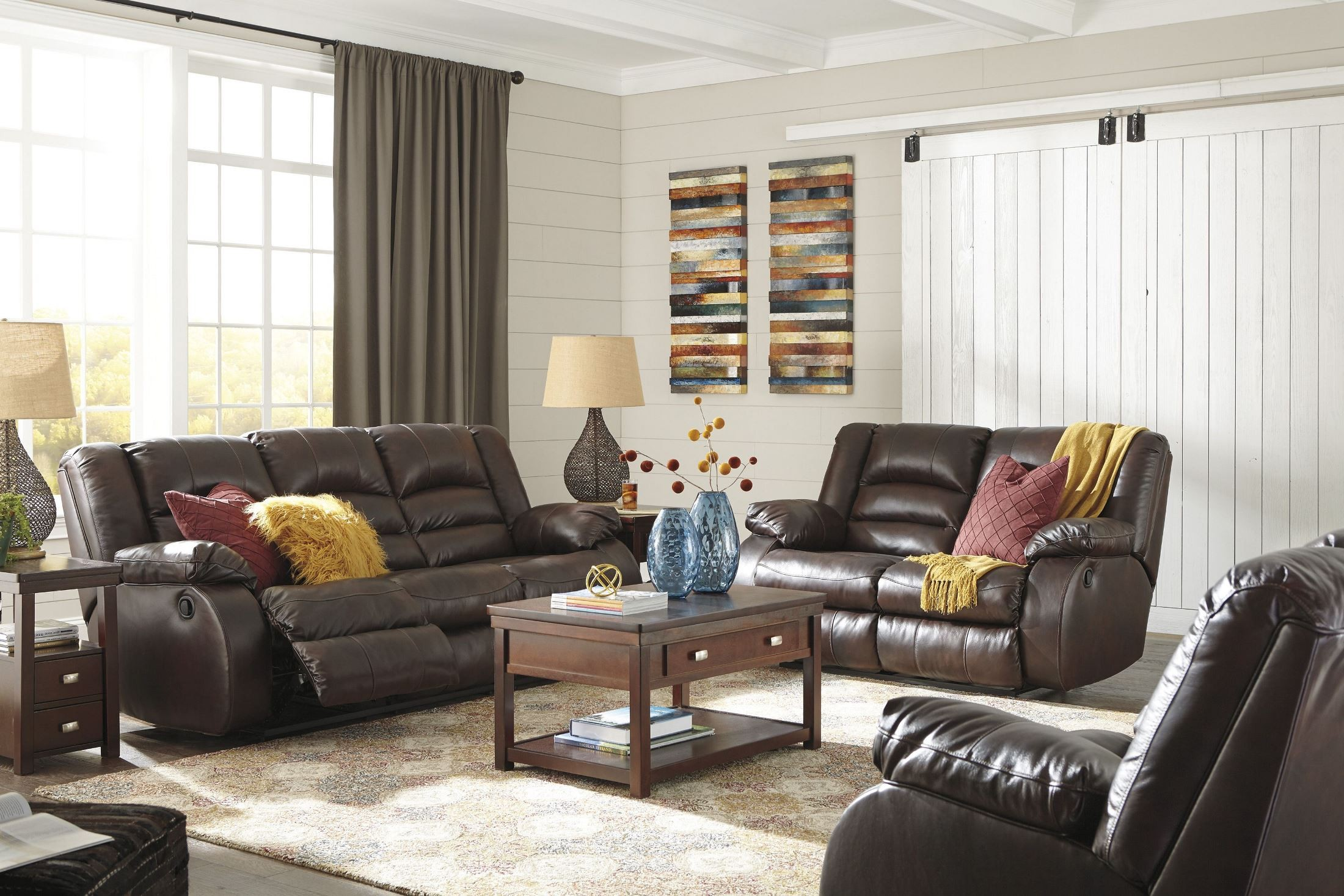 Levelland Cafe Power Reclining Living Room Set From Ashley Coleman Furniture