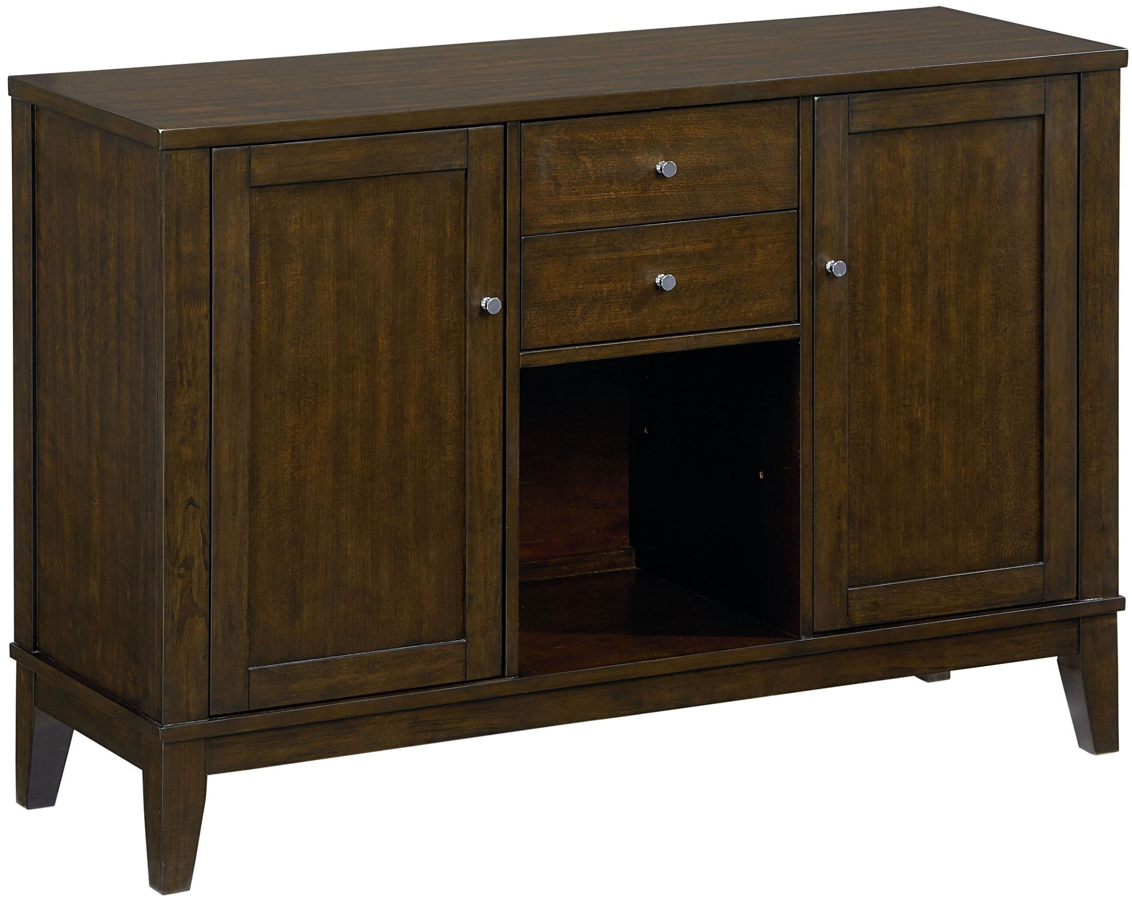 Noveau Dark Merlot Sideboard From Standard Furniture Coleman Furniture