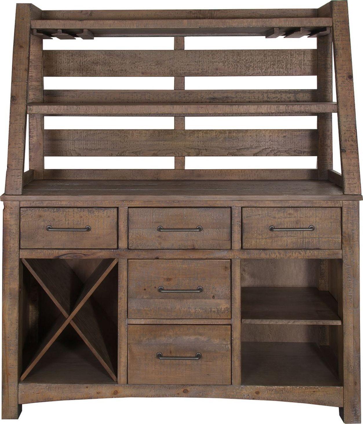 Prescott Antique Honey Server With Hutch From Liberty (178 SR5868 SH5868)    Coleman Furniture