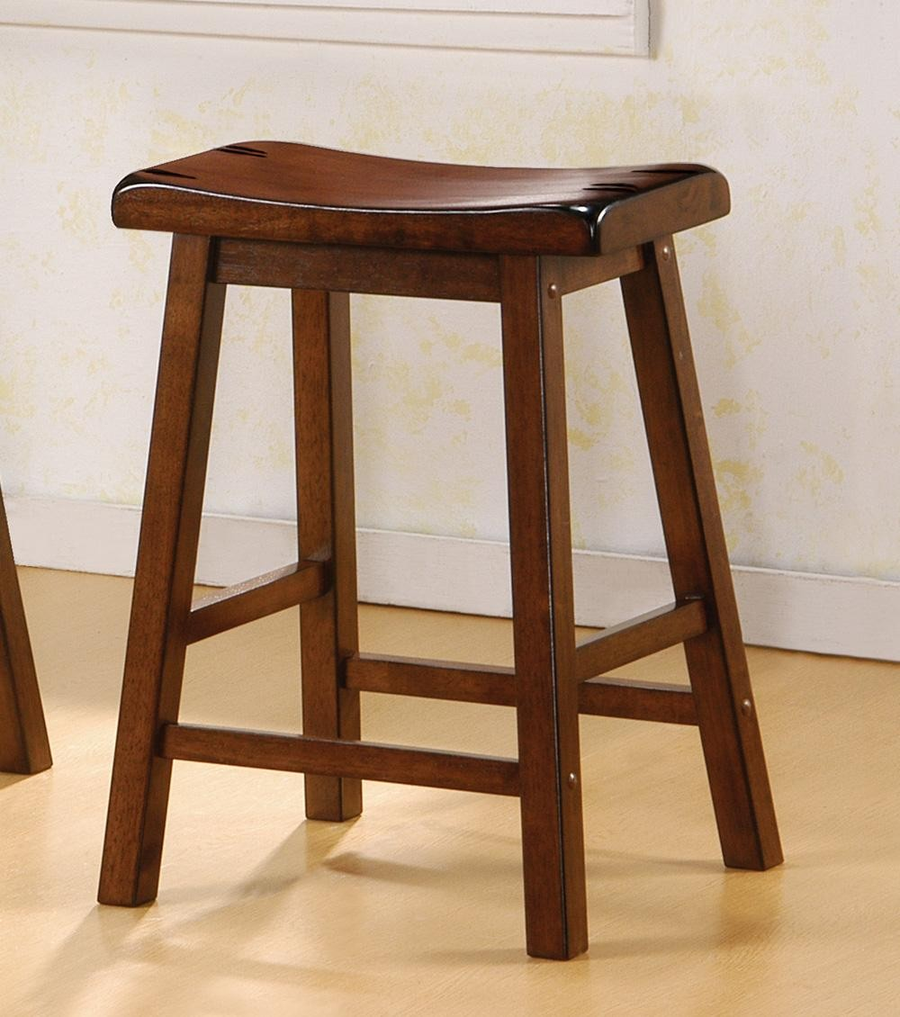 24 Quot Bar Stool 180069 Set Of 2 From Coaster 180069