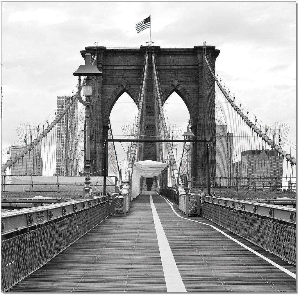 Best Brooklyn Bridge Illustrations, Royalty-Free Vector ...  |Brooklyn Bridge Painting Black And White