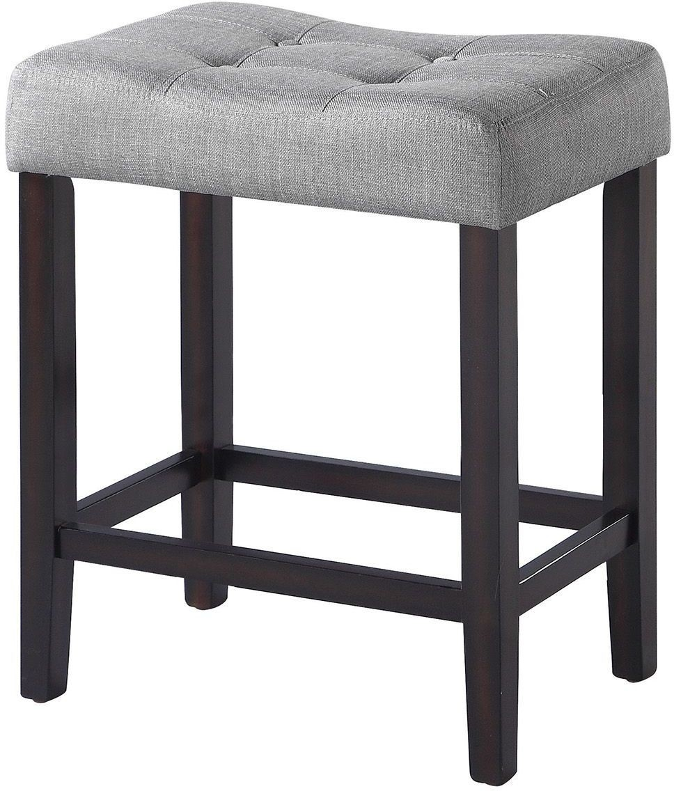 182016 Espresso Counter Height Stool Set Of 2 From Coaster