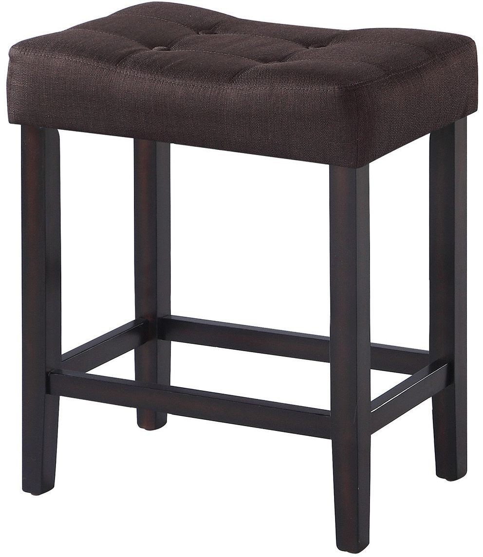 182017 Espresso Counter Height Stool Set Of 2 From Coaster