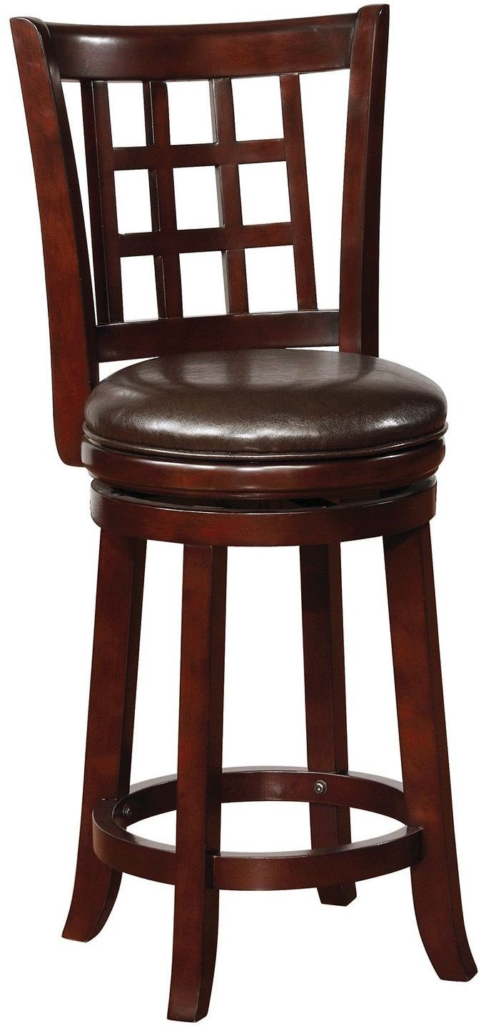 Merlot Counter Height Stool Set Of 2 From Coaster