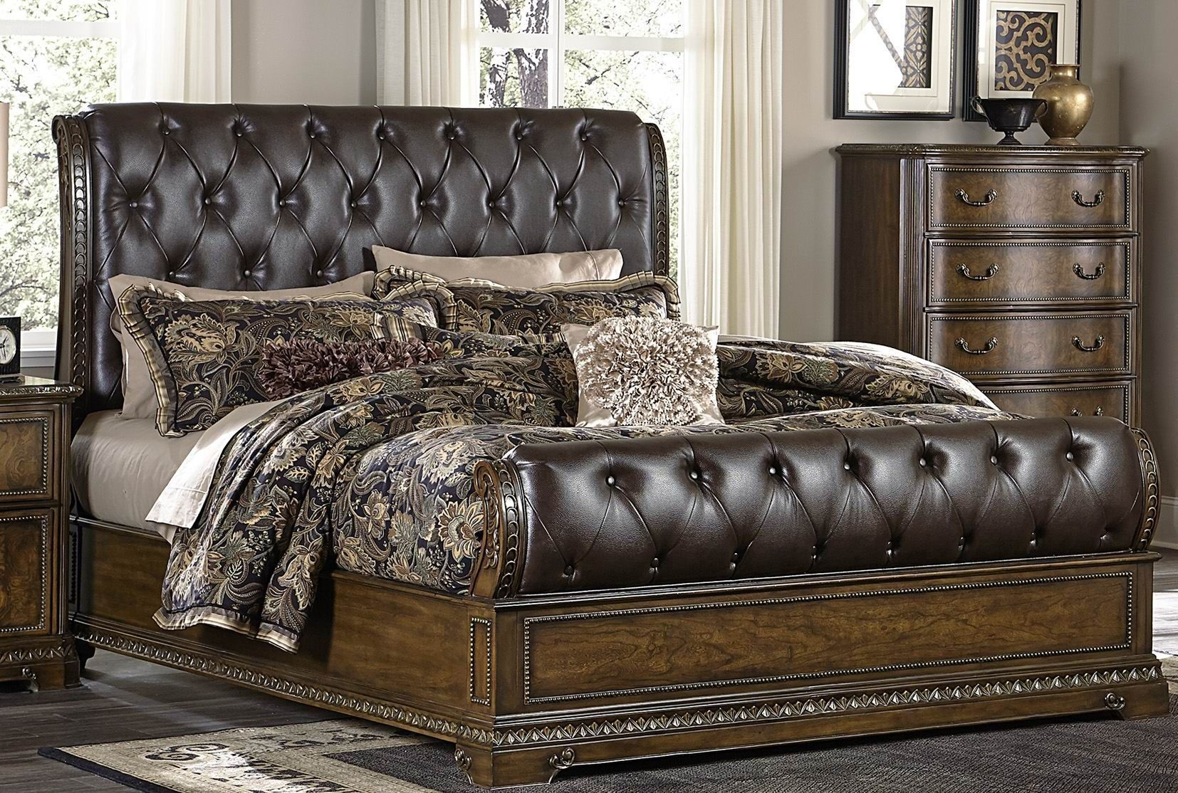 Brompton Lane Brown Lane Upholstered Panel Bedroom Set Iphone Wallpapers Free Beautiful  HD Wallpapers, Images Over 1000+ [getprihce.gq]