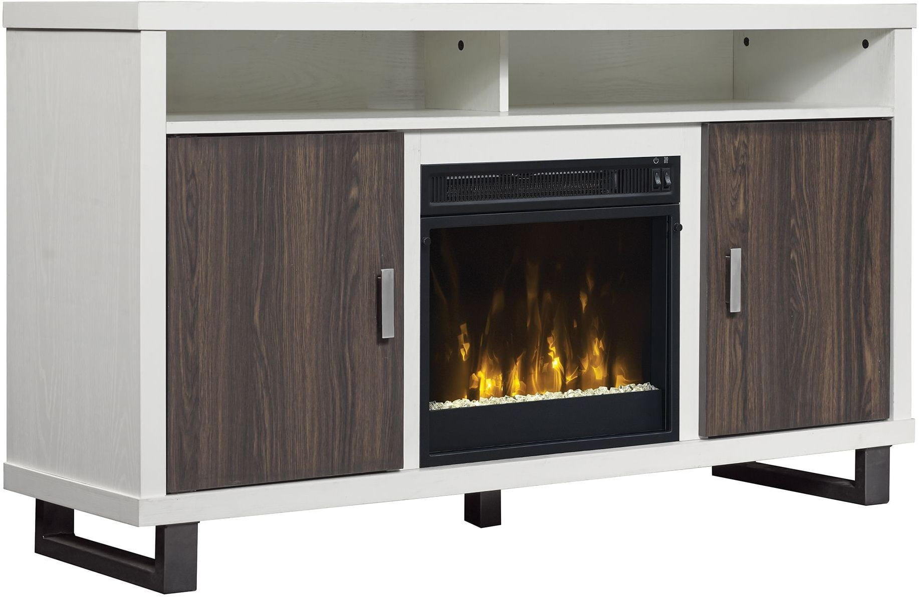 Classicflame White Van 54 Quot Horne Tv Stand From Twin Star