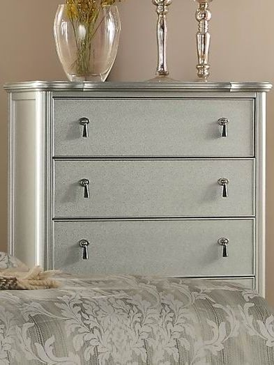 Toulouse Gray Upholstered Panel Bedroom Set From