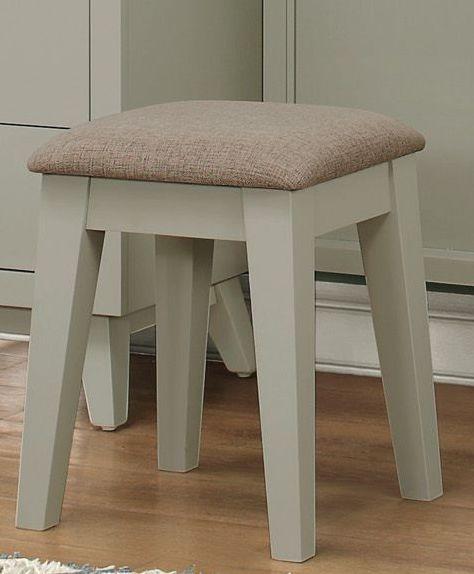 Valpico Gray Vanity Stool From Homelegance Coleman Furniture
