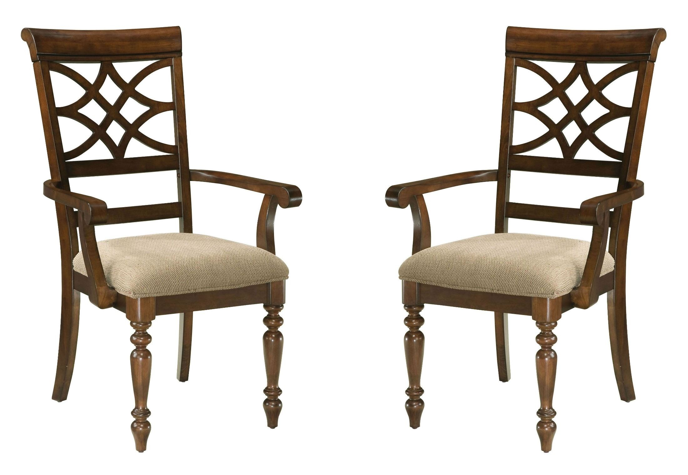 Woodmont Brown Cherry Extendable Dining Room Set From
