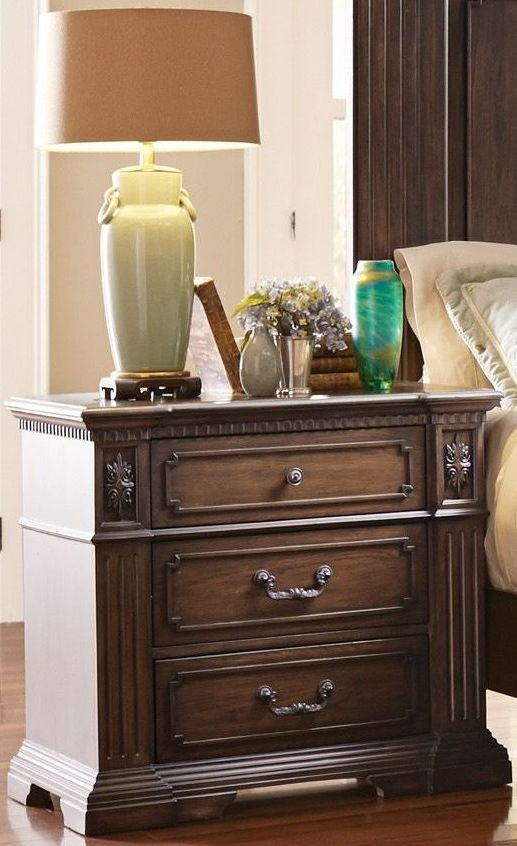 Dothan Park Brown Panel Bedroom Set From Homelegance Coleman Furniture