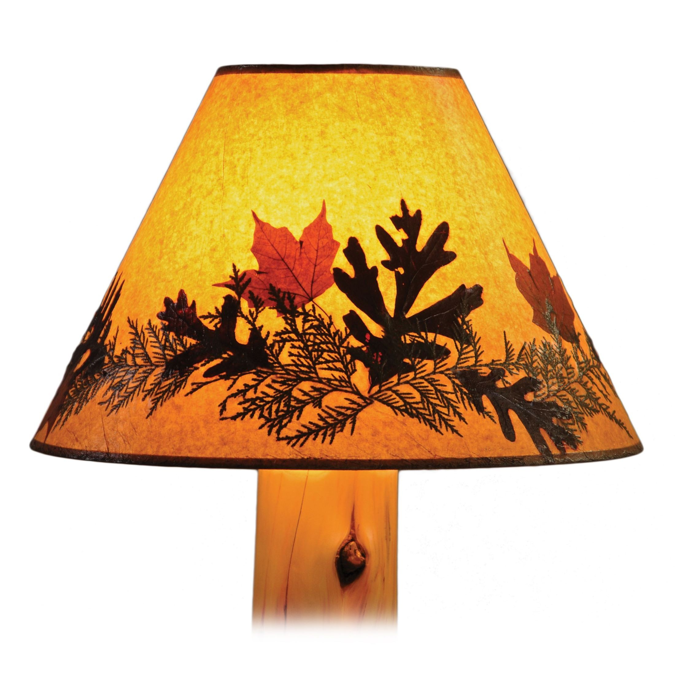 Foliage Extra Large Lamp Shade From Fireside Lodge 19245
