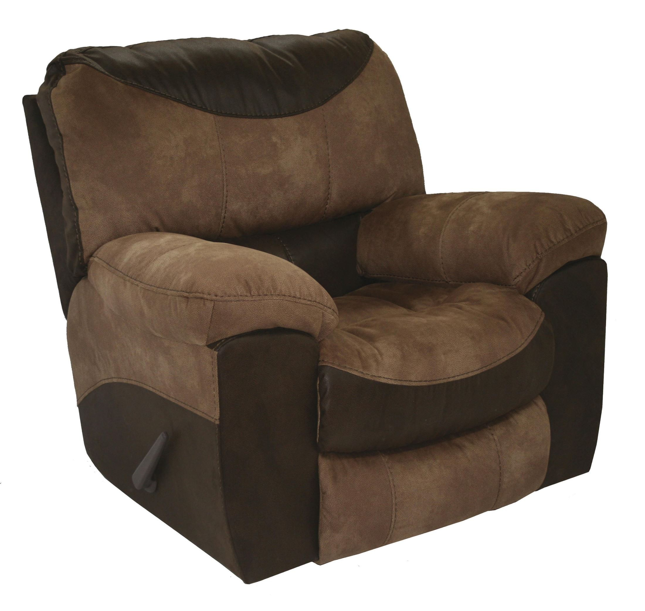 Portman saddle chocolate recliner from catnapper for Catnapper cloud nine chaise recliner