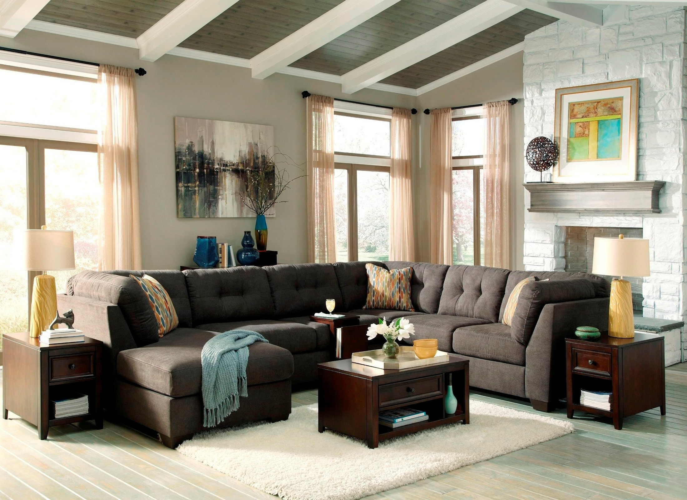 Delta City Steel LAF Sectional Old Vs New