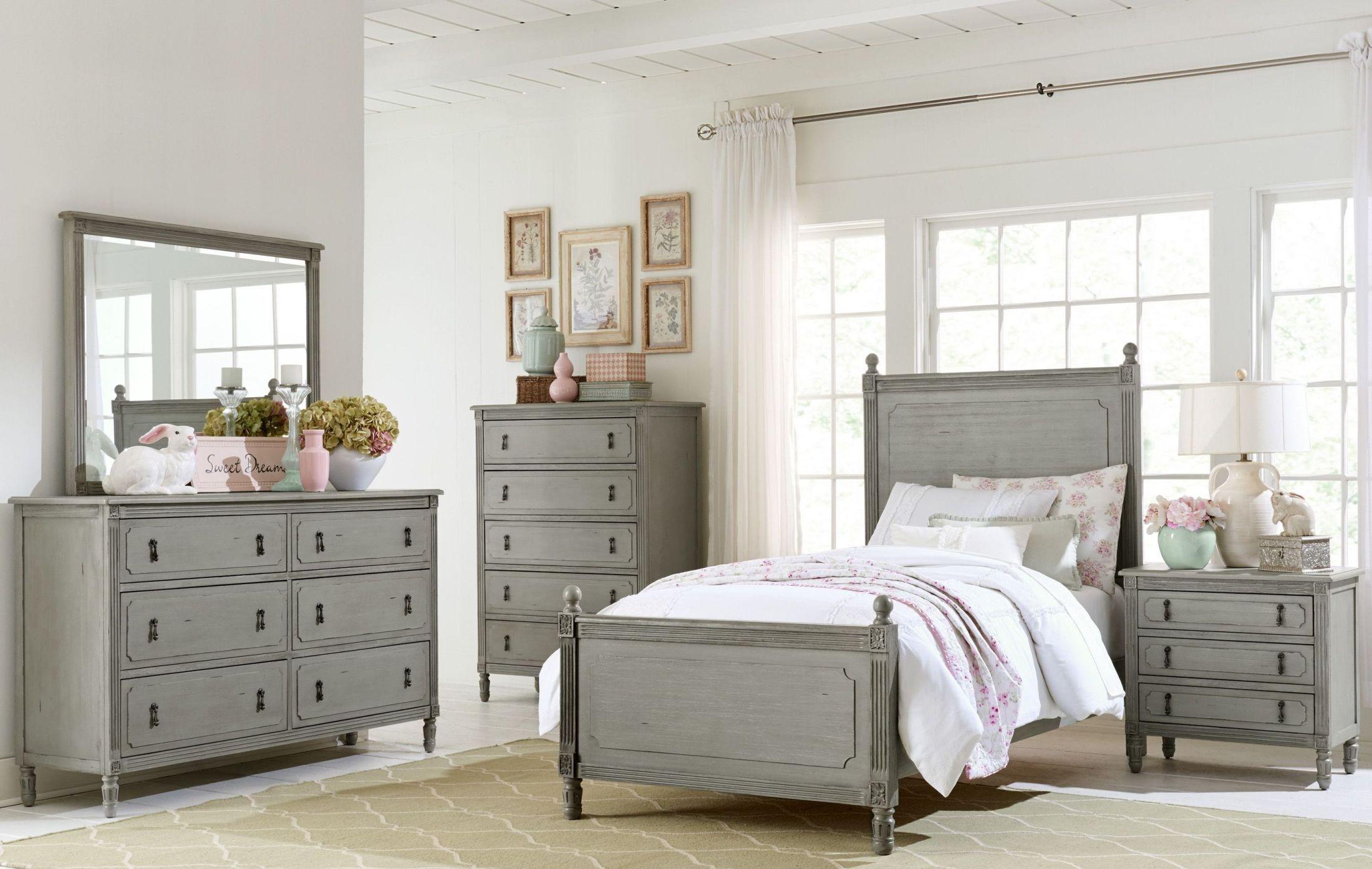 Aviana grey youth poster bedroom set from homelegance coleman furniture - Juvenile bedroom sets ...