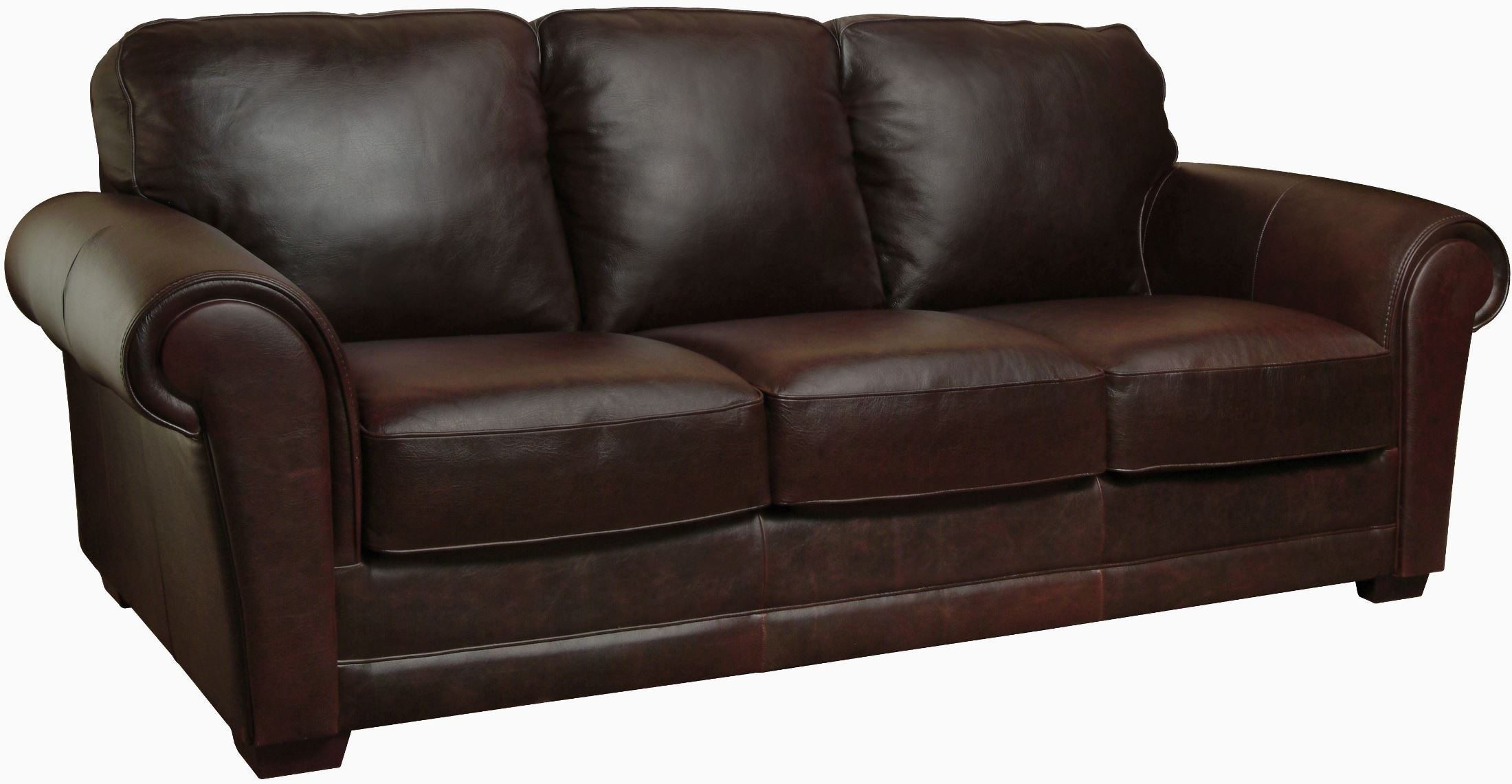 Mark italian leather sofa from luke leather coleman for Italian leather sofa